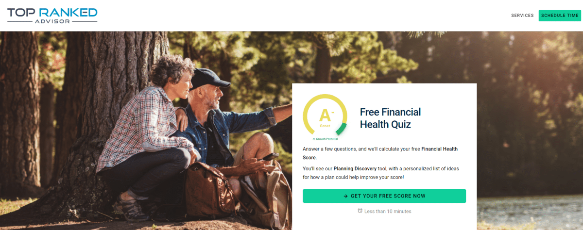 Financial Advisor Lead Magnet | Lead Magnet Quiz for Financial Planners