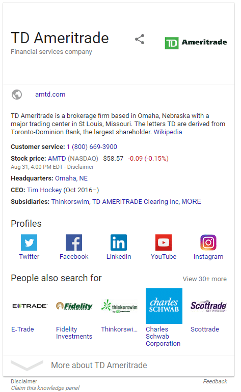 Knowledge Graph | Part of Advisor SEO