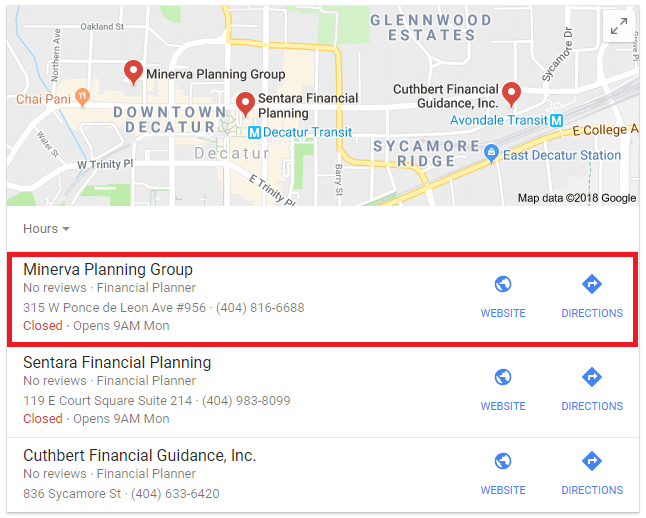 Advisor SEO Case Study: Investment Planning