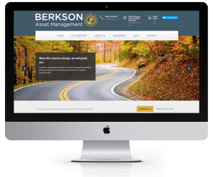 Berkson Asset Management WordPress Website