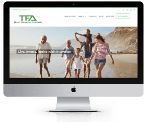 WordPress Website for Triad Financial Advisors