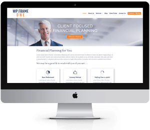 WordPress Website for Financial Advisors